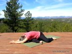 Yin Yoga's Deer Pose