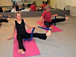 Seated Hand to Big Toe Pose with Yoga Strap