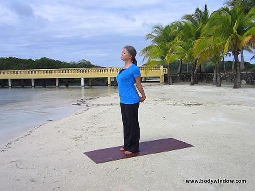 Yoga pose, heart opening