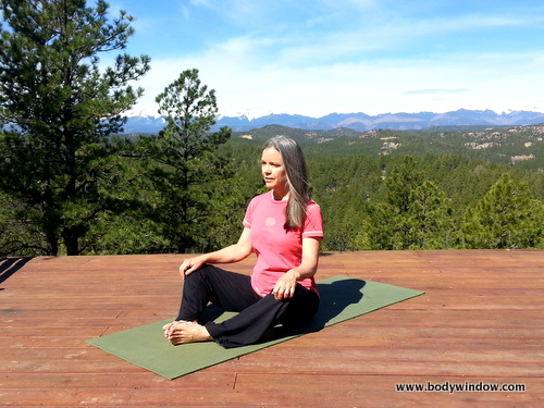Yin Yoga Butterfly Pose