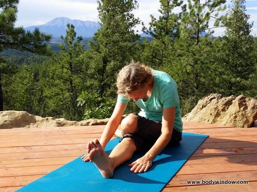 Yin Yoga, Half Shoelace Pose