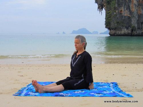 Staff Pose, Pranang Beach, Railay, Thailand