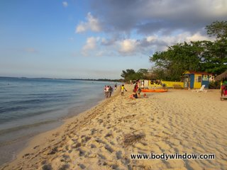 7-mile beach, Negril Jamaica