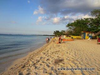 7-mile beach, Negril Jamaica