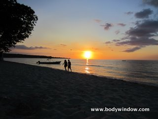 7-Mile Beach at Sunset, Negril, Jamaica