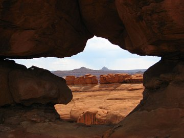 Rock formations, Canyonlands, UT