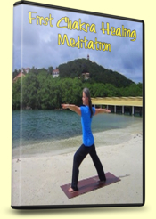 1st Chakra Healing Meditation, Warrior II Pose