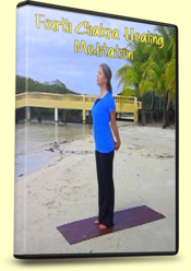Photo of DVD Case for 4th Chakra Healing Meditation