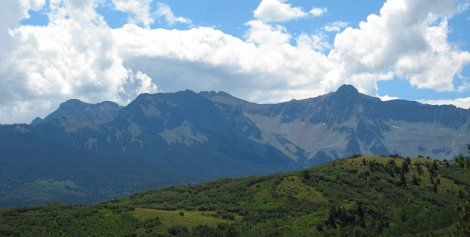 Mt. Sneffels and the Dallas Divide, Telluride, CO