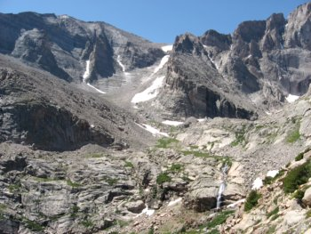 Mount Meeker and Long's Peak, Rocky Mountain National Park, CO