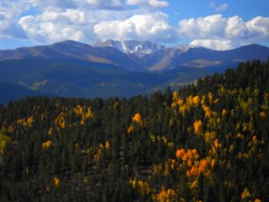 Mount Evans, Colorado, from the