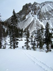 Lake Agnes, Colorado, cross country skiing
