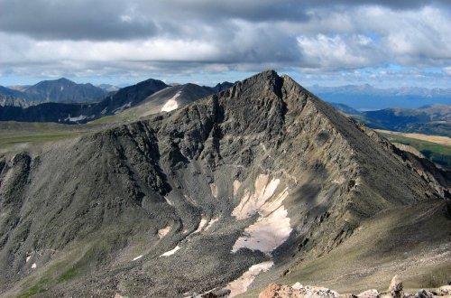 Pacific Peak from Crystal Peak