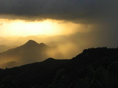 Storm over the Mountains of Puerto Rico