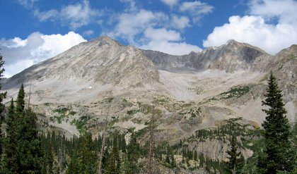 Snowmass Mountain and Hagerman Peak, Colorado