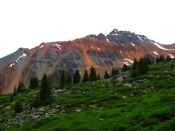 Vermillion Peak, San Juan Mountains, Colorado