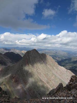 Arrow Peak from Vestal Peak's Summit