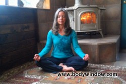 Eye Yoga, begin in Easy Pose