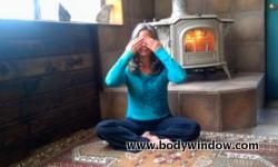 Eye Yoga, Take warm palms to eyes
