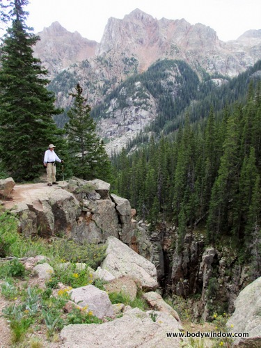 High Gorge on Johnson Creek in Southwestern Colorado
