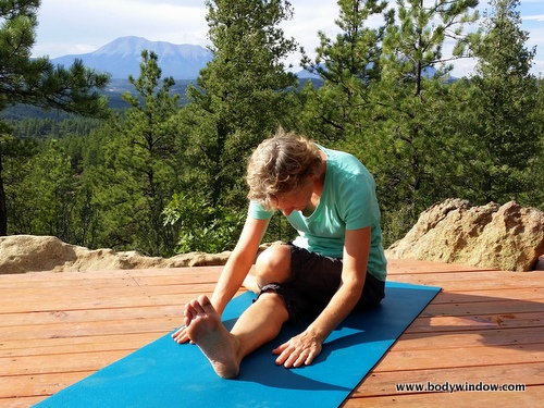 Yin Yoga's Half Shoelace Pose
