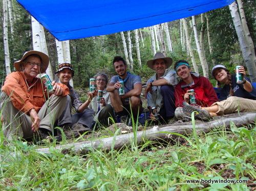 Camp toast