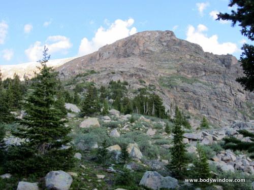 Summit of Mount Oklahoma, Colorado Centennial Peak