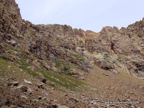 South Face, Jupiter Mountain, San Juan Mountains, Colorado