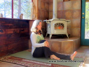 Yoga Knee to Chest Stretch