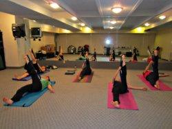 Leg Raise with Yoga Strap