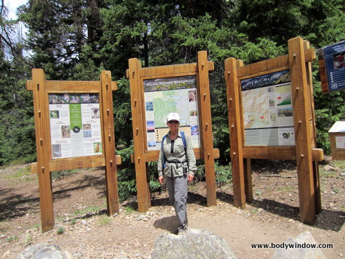 North Halfmoon Creek Trailhead