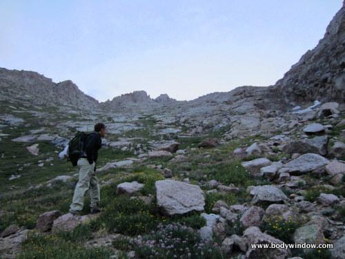Grassy Southwestern Slopes of Pigeon Peak