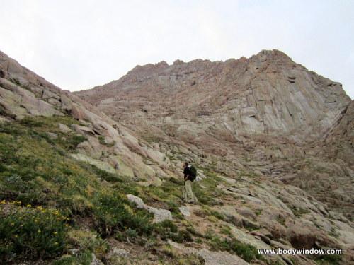 Under the Ramparts of Pigeon Peak