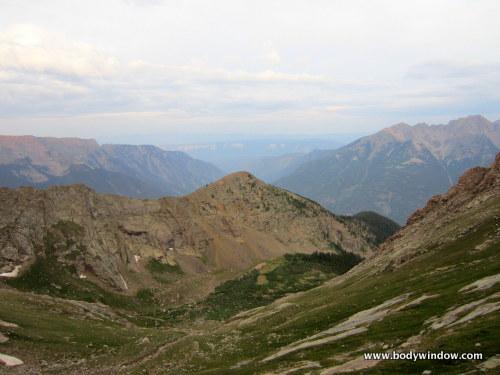 High Meadow from Pigeon Peak