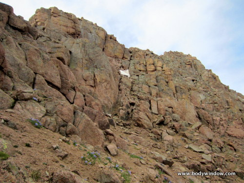 The Blocky Weakness to the Summit of Pigeon Peak