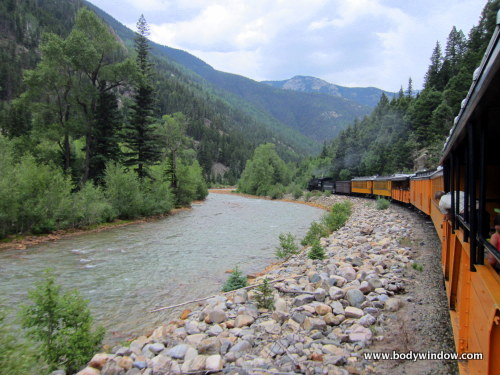 The Durango-Silverton Narrow Gauge Railroad