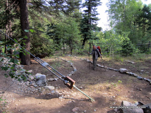 Animas River Trail Turnoff