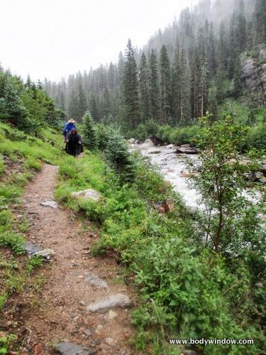Soggy Vallecito Creek Trail