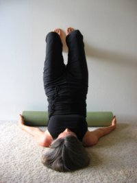 Shoulder Stand on the Wall, Wall Yoga