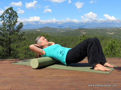 Thoracic Spine Foam Rolling Starting Position