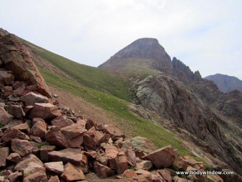 Turret Peak from 12,780 Ft. Saddle