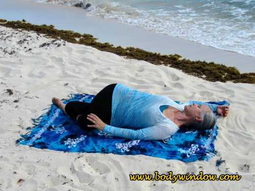 The Twisted Roots Pose in Yin Yoga