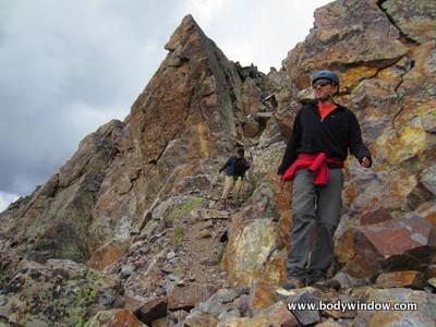 The Notch on Vestal Peak
