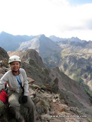 South face route, Vestal Peak