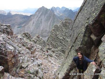 South Face Route Vestal Peak