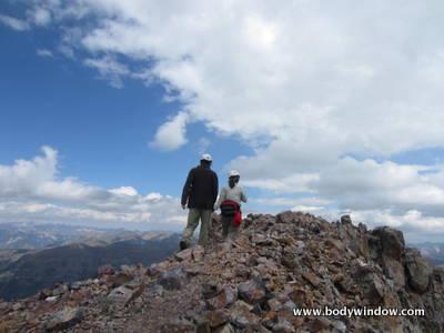 Vestal Peak Summit Ridge