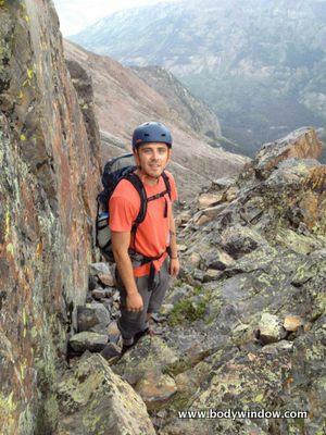 Wham Ridge on Vestal Peak