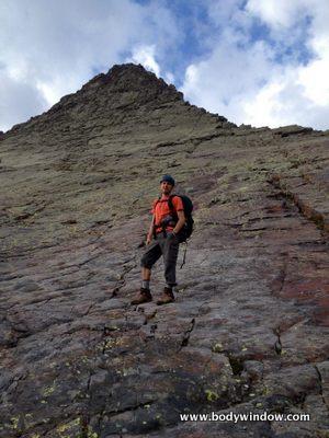Base of Wham Ridge, Vestal Peak