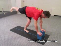 Warrior III Pose with 2 Yoga Blocks