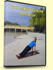 3rd Chakra Healing Meditation, Reverse Plank Pose